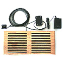 ATM 00-503-MA Cool Vent III Intake Self-contained Air Moving Device for Enclosures with 2 120mm Fans - in maple