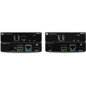 Atlona AT-OME-EX-KIT-LT Omega 4K / UHD HDMI Over HDBaseT Extender TX / RX Lite Extender Kit with USB / Control and PoE