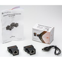 Atlona AT-DVI60SRS Passive DVI Extenders Over single Cat5/6/7 (Transmitter and Receiver are included) - Bstock (Used)