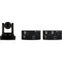 Atlona AT-HDVS-CAM PTZ Camera & AT-USB-EX100-KIT USB Over Ethernet Extender Kit