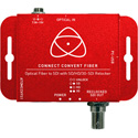 Atomos Connect Convert Fiber - Optical Fiber to SDI Converter with SD/HD/3G-SDI Reclocker