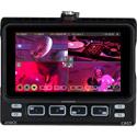 Atomos NINJACAST Ninja V Portable Monitor/Recorder w/ AtomX Cast Docking Station for 4 x HDMI Video Switching/Streaming