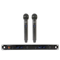 Audix AP62 OM5 Wireless Mic System with R62 Two Channel True Diversity Receiver & Two H60/OM5 Handheld Transmitters