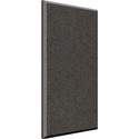 Auralex B224OBS-C 2x24x48 Inch Fabric Wrapped Acoustical Absorption Panel - Beveled Edge - Obsidian