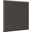 Auralex B244OBS-C 2x48x48 Inch Fabric Wrapped Acoustical Absorption Panel - Beveled Edge - Obsidian