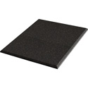 Auralex B244OBS 2 x 48 x 48in Acoustic Panel -  Beveled Edge - Obsidian Fabric 4 AFN Impaling Clips - Tier 4