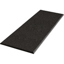 Auralex B248OBS 2 x 48 x 96 inch Acoustic Panel Beveled Edge - Obsidian Fabric 6 AFN Impaling Clips - Tier 4