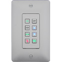 Aurora DXB-8-W 8-Button Backlit Panel - White
