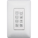 Aurora DXB-8I-W 8-Button Backlit IP Controller - White