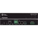 Aurora DXE-CAT-RX3-A HDBaseT Receiver 330 / 600 Ft. with Dual Relay & Audio Line In / Out & 2x35W Amp