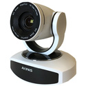 Avipas AV-1281W 10x Full-HD 3G-SDI PTZ Camera with IP Live Streaming and PoE Supported in White Color