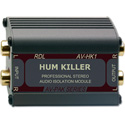 RDL AV-HK1 HUM KILLER Stereo Audio Isolation Transformer
