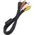 Canon AVC-DC400ST Mini USB to 3-RCA Male Audio/Video Breakout Cable