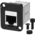 AVP UM2RJ45-6AFS Maxxum Cat6A RJ45 Feedthru Female to Female Shielded Adapter Plate(s) and/or Hardware MIS Color-Code