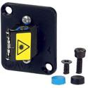 AVP UMF-SMD-LC-BL-SH Maxxum LC Singlemode Duplex Fiber Optic Panel Mount Feedthru Blue Adapter Plate(s) with Shutter