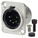 AVP UMNC5MD-L-1 Maxxum Neutrik NC3FD-L-1 5 Pole Male Nickel/Silver Adapter Plate(s) and/or Hardware MIS Color-Code