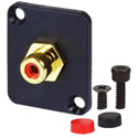 AVP UMRCA-R Maxxum RCA Feedthru Red Adapter Plate(s) and/or Hardware - MIS Color-Code