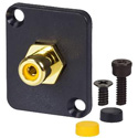 AVP UMRCA-Y Maxxum RCA Feedthru Yellow Adapter Plate(s) and/or Hardware - MIS Color-Code
