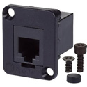 AVP UMRJ11-F Maxxum RJ11 (RJ12) 6 pos/6 con Feedthru F-F Adapter Plate(s) and/or Hardware - MIS Color-Code