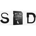 Angelbird AVP128SDMK2V60 AV Pro MK2 UHS-II SDXC Memory Card w/ Water/Shock/X-Ray/Magnet Protection - 60 MBs min/128GB