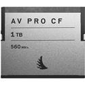 Angelbird AVP1TBCF AV Pro CFast 2.0 Memory Card for Atomos/Blackmagic Design/Phantom/Canon/Hasselblad - 1TB