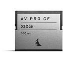 Angelbird AVP512CF AV Pro CFast 2.0 Memory Card for Atomos/Blackmagic Design/Phantom/Canon/Hasselblad - 512GB