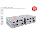 Avenview HBT-C6POE-SET HDMI/IR/RS-232/PoE over SingleCAT5e/6/7 Extender Set with Ethernet - UP TO 100M