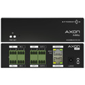 Attero Tech AXON A4MIO 4 Channel Mic/Line I/O Interface PoE or 24VDC AES67