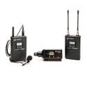 Azden 310LX UHF Camera Mount Lavalier Mic & XLR Plug-In Wireless Mic System