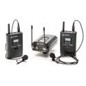 Azden 330LT Dual Lavalier Camera Mount Wireless Microphone System