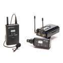 Azden 330LX Lavalier Mic & XLR Plug-In Camera Mount Dual Wireless Mic System