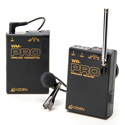 Azden WLX-PRO plus i VHF Wireless Lavalier Microphone System for Cameras & Mobile Devices (F1/F2 Frequencies)