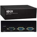 Tripp Lite B114-002-R VGA/SVGA 350MHz Video Splitter 2 Port HD15 M/2xF