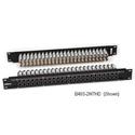 Bittree B52T-2WTHD 2x26 2RU Panel - Black - Normalling -Terminating