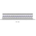 Bittree B64H-1MWTHD 2x32 1.5RU MW 3Ghz Non-Norm Patchbay - Black