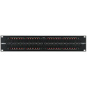Bittree B96DC-NNSST/ID M2OU12B 2X48 2RU TT Patchbay Front Selectable TRS Audio - 12 Inch Depth