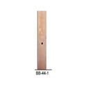BB-44-1 Solid Copper Buss Bar 44 Space (77in) Flat x 1in Wide Threaded 10-32