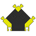 Photo of Bumble Bee 5 Channel Cable Protector (Y-Intersection)