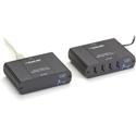 Black Box EMD100USB KVM-over-IP Switchable Extender Kit - LAN - 4-Port - up to 328 Feet/100m