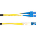 Black Box FOSM-001M-SCLC 3.2-Foot LCSC YL OS2 SM Fiber Patch Cable INDR Zip OFNR