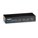 Black Box KV9614A 4-Port ServSwitch DT KVM Switch DVI w/Emulated USB KM