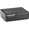 Black Box SW1040A CAT6 A/B Switch Latching RJ45 Controlled Dry Contact