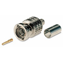 Canare BCP-A25F 3-Piece Crimp BNC Connector for Canare L-2.5CFB or Belden 1855A