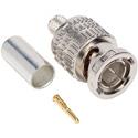 Canare BCP-A4 3-Piece Crimp BNC Connector for Canare LV-61S & Belden 8241  /  8279