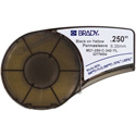 Brady M21-250-C-342-YL .439 Inch x 7 Ft. PermaSleeve Markers for BMP21 Mobile Printer & IDPAL Yellow