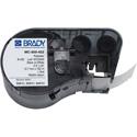 Brady MC-500-422 M Series B422 Black on White Label Maker Cartridge - 0.50 Inch x 25 Foot Roll