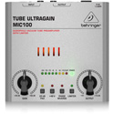 Behringer Tube Ultragain MIC100 Audiophile Vacuum Tube Preamplifier with Limiter