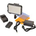 Bescor XT160M1 Photon Mark 1 On-Camera Light Kit with Photon Light/LINPF Battery/LIC74 Auto Charger/AC12V2 Power Supply