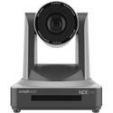 BZBGear BG-ND-20XHSRP PTZ 20X 1080P NDI HDMI 3G-SDI RS232 Live Streaming Camera with POE - Gray