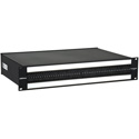 Bittree B96DC-HNAIT/E3 M2OU7B (969A554) 2 Ru Black 2x48 Mono Spaced In A 7-Inch Chassis Bantam Patchbay